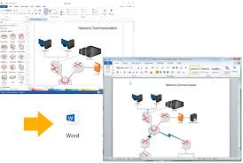 create network diagrams for wordnetwork diagram export to word