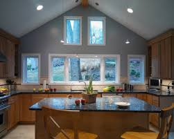 kitchen lighting sloped ceiling cathedral ceiling design ideas best lighting for sloped ceiling