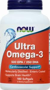 Now Ultra Omega 3 Fish Oil Softgels, 180 ct - Kroger