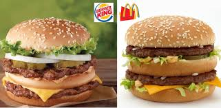 burger king big king imitates mcdonalds big mac abc news photo burger kings new big king bears an uncanny resemblance to mcdonalds venerable big mac