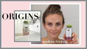 <b>Origins Modern Friction</b> Review & Demo | Clean Beauty <b>Cleansing</b> Oil