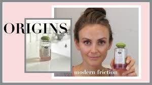 <b>Origins Modern Friction</b> Review & Demo | <b>Clean</b> Beauty <b>Cleansing</b> Oil