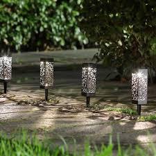 6PCS <b>Outdoor LED Solar</b> Garden <b>Light</b> Waterproof Net Cover <b>Light</b> ...