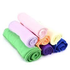<b>5pcs</b>/<b>lot</b> Square Home Bathroom <b>Kitchen</b> Towels Auto Care Blue ...