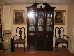 Dining Room Tables Used Furniture Ethan Allen Dining Room Set Chairs Table Hutch Hardly