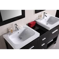 element contemporary bathroom vanity set:  design element decb new york  inch contemporary bathroom vanity