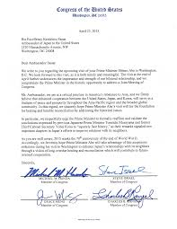 members of congress write to ese ambassador kace