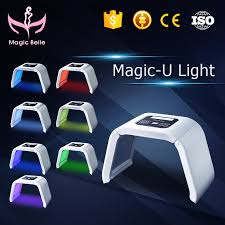 2018 Best <b>7</b> Color PDT <b>LED</b> Omega <b>Light Therapy</b> Instrument for ...