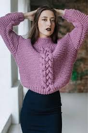 <b>Women</b> Hand Knit <b>Turtleneck Sweater</b> 87K