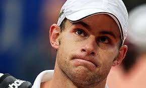 Andy Roddick had attempted to practice in Madrid but said he could no longer focus on the ball. Photograph: Patrick Hertzog/AFP/Getty Images - Andy-Roddick-006