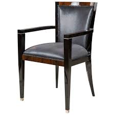 art deco style dining or occasional chair with arms at 1stdibs art deco dining arm