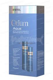 Набор <b>Estel</b> Otium Aqua для <b>увлажнения</b> волос (<b>Шампунь</b> 250 мл ...