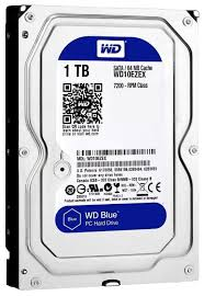 <b>Жесткий диск Western Digital WD</b> Blue 1 TB (WD10EZEX ...