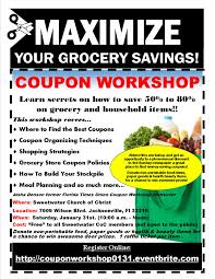 sensible shoppers basic coupon workshops sensible shoppers finding the best coupons