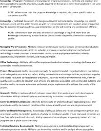 examples of functional competencies pdf knowledge technical possession of a designated level of technical skill or knowledge in a specific