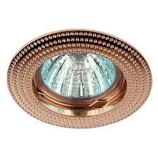 Потолочный <b>встраиваемый светильник ЭРА</b> Б0017100 купить по ...