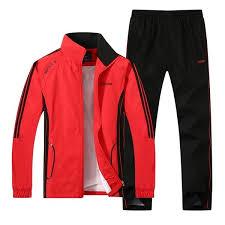 New 2017 <b>Spring</b> Autumn <b>Sport Suit Men</b> Polyester Brand Tracksuit ...