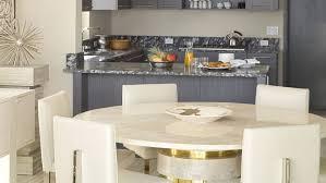 round white marble dining table:  marvelous round kitchen table centerpiece ideas white marble kitchen tables top white leather modern dining chair