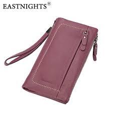 <b>EASTNIGHTS</b> 2019 <b>new genuine</b> leather women wallets vintage ...