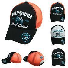 Калифорнийский шапки <b>бейсболки</b> из полиэстера для мужчин ...