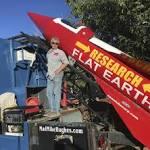 Die Erde ist flach – Flug mit Rakete vom Schrottplatz soll es beweisen