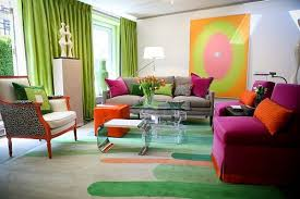 wake up tired rooms with bright paint contrasting throw pillows and bold accessories dont forget the windows and floors vibrantly hued fabrics at the bold living room furniture