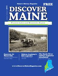 androscoggin oxford sebago by discover maine magazine issuu western lakes mountains 2013
