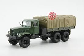 <b>Alloy</b> Model <b>1:43</b> Scale Russian Kamaz KRAZ 6510 Off road Military ...