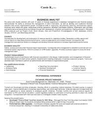Business Analyst Resume Sample   SampleBusinessResume com     SampleBusinessResume com