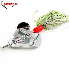 SHUNMIER <b>1pc</b> 20g Buzzbait <b>Spinner Bait</b> Spoon <b>Fishing</b> Lure ...
