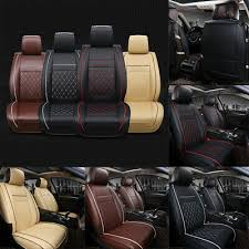 Multicolor Car Front <b>Seat Covers PU</b> Leather <b>Universal</b> Seat ...