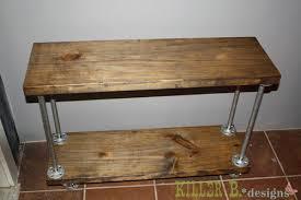 industrial 5 shelf cart build industrial furniture