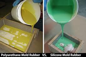 Should I Use Polyurethane <b>Mold Rubber</b> or <b>Silicone Mold Rubber</b>?