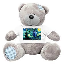 Плюшевый <b>мишка</b> Тедди ТАРДИС Ван-Гога купить на Printdirect ...