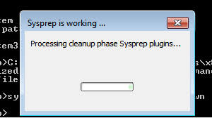 How to SysPrep a Windows 7 PC