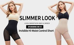 <b>MISS MOLY Women</b> Shapewear Thigh Slimmer Butt Lifter Panties ...