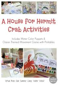 A House for Hermit Crab Activities   The Educators     Spin On ItSave