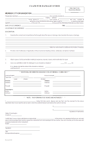 property damage reporting form template wordxerox damage claim template