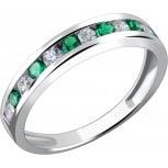<b>Кольца</b> с <b>изумрудами</b> стиля «дорожка» : купить в Москве <b>кольцо</b> с ...