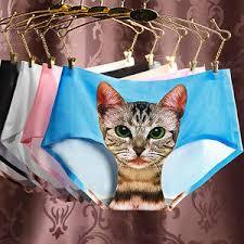 panties seamless 3d <b>cats</b> print underwear — международная ...