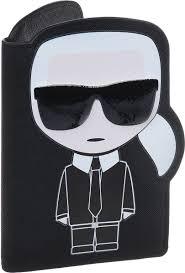 Визитница женская Karl Lagerfeld, 86KW3234_999, черный ...