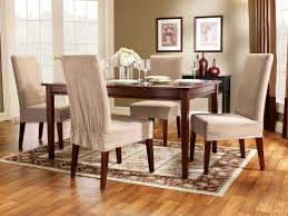 Formal Dining Room Chair Covers Tags Dining Rooms Original Surefit Slipcover Dining Chairs Taupe