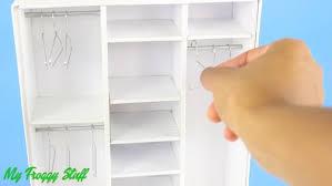 Мебель для кукол своими руками: Как сделать <b>шкаф</b> гардероб ...