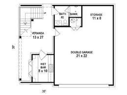 Garage Apartment Plans   Carriage House Plan   Double Garage     st Floor Plan