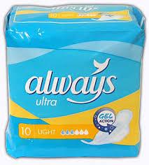 <b>Олвейз прокладки ультра лайт</b> 10 шт. купить по выгодным ценам ...