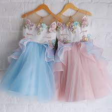 TODDLER KID <b>GIRL Unicorn Anna</b> Elsa Princess Party Fancy Dress ...