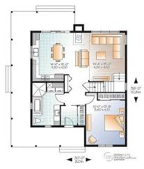 House plan W  V detail from DrummondHousePlans com    st level Beautiful and small new modern Scandinavian home plan  to bedrooms