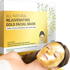 Anti-Wrinkle & Rejuvenating <b>Gold Facial Sheet</b> Mask | Doppeltree