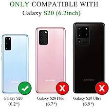 FYY Samsung S20 <b>Case</b>, [Kickstand Feature] Luxury <b>PU Leather</b> ...