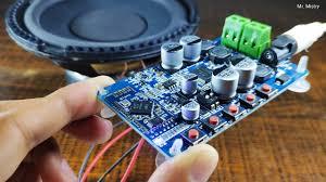 TDA7492P 50W+50W <b>Wireless</b> Digital Bluetooth 4.0 <b>Audio</b> Receiver ...